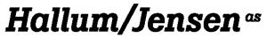 Hallum / Jensen Logo